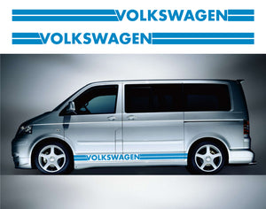 VW Transporter LWB Side Stripes 09 - Autograph-X