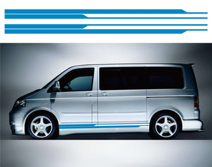 VW Transporter SWB Side Stripes 16 - Autograph-X