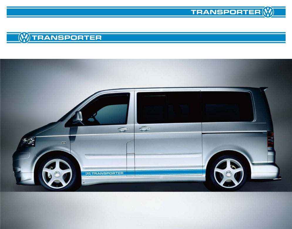 VW Transporter SWB Side Stripes 22 - Autograph-X