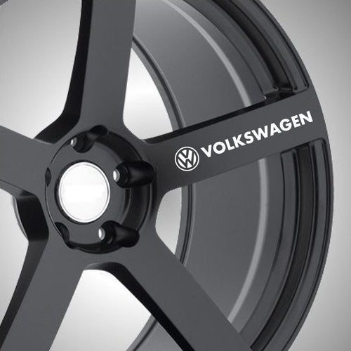 VW Volkswagon Wheel Graphics (x6) - Autograph-X