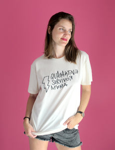 Camiseta Quarantine Survivor Mama