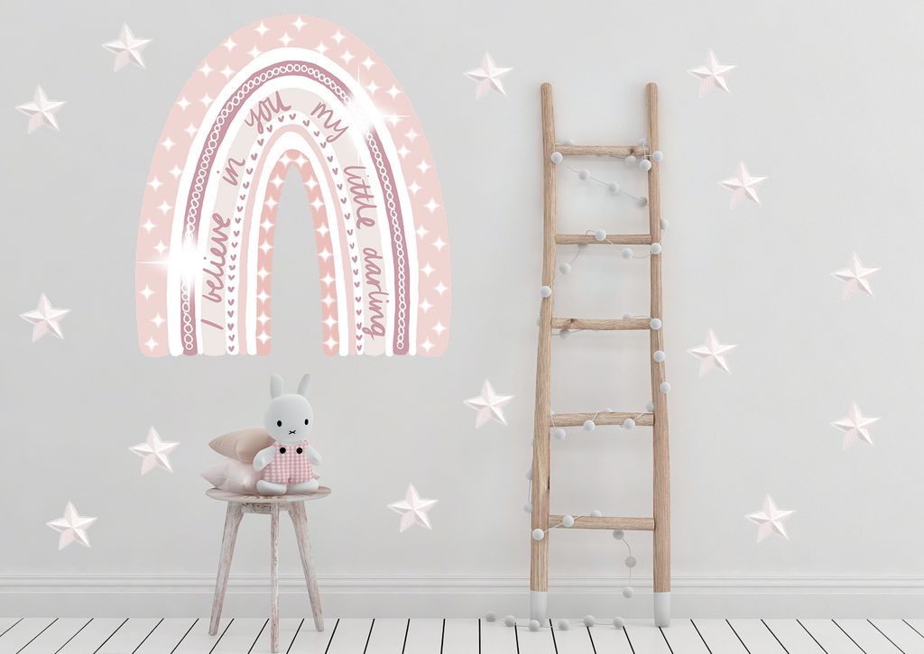 Blush Revelation Rainbow Wall Decals - Mae She Reign - Creative Studio