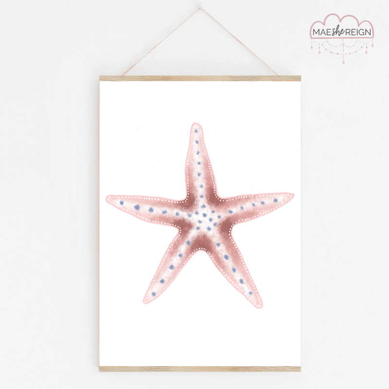 Pink Starfish - Mae She Reign - Creative Studio