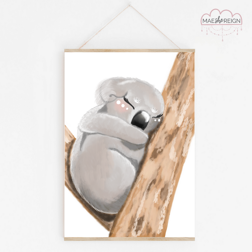 Koala Dreaming of Hope - Mae She Reign - Creative Studio
