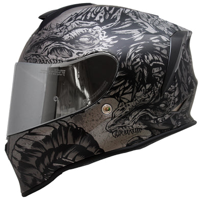 Casco Taff Drako Ice