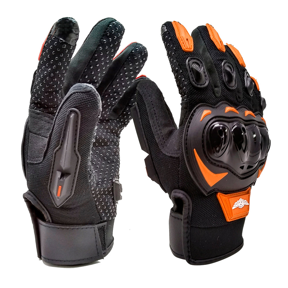 Guante ISP Element Touch Negro / Naranja