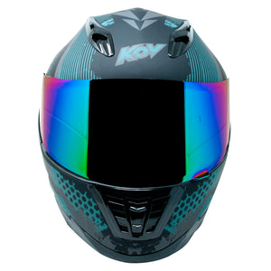Casco Veneno Match One Negro