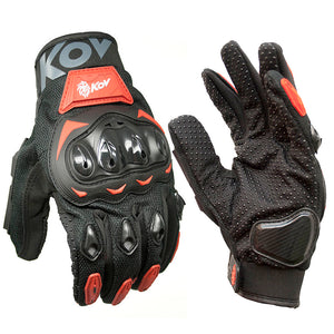 Guantes KOV Element N-Rojo