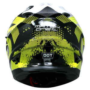 Casco Veneno Match One Amarillo