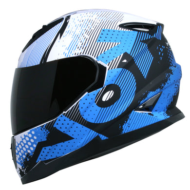 Casco Veneno Match One Azul