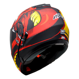 Casco Stealth Viper Red
