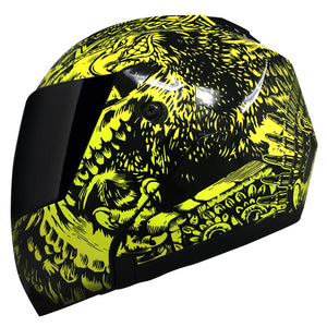 Casco Stealth Zapata Amarillo
