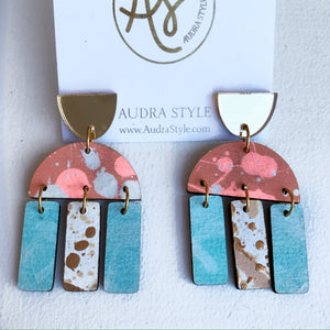 Agatha - Gold Coral Mint