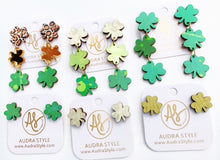 Load image into Gallery viewer, Shamrock Studs