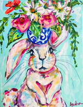 Load image into Gallery viewer, Bunny Notecard Set of 8 - Assorted