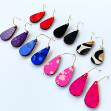 Elliot-Mini Teardrop- Fuchsia