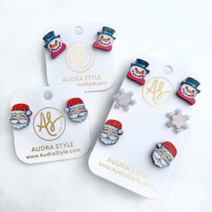 Christmas Studs and Sets