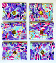 Load image into Gallery viewer, Purple and Pink Coin Purse/Cardholder