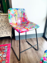 Load image into Gallery viewer, Abstract Painted Chair