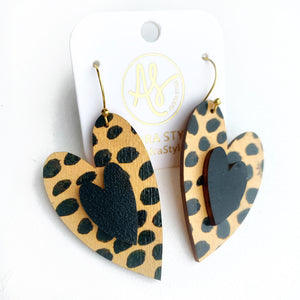 Cherish Heart - Cheetah Dot