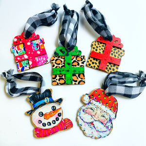 Christmas Themed Ornaments