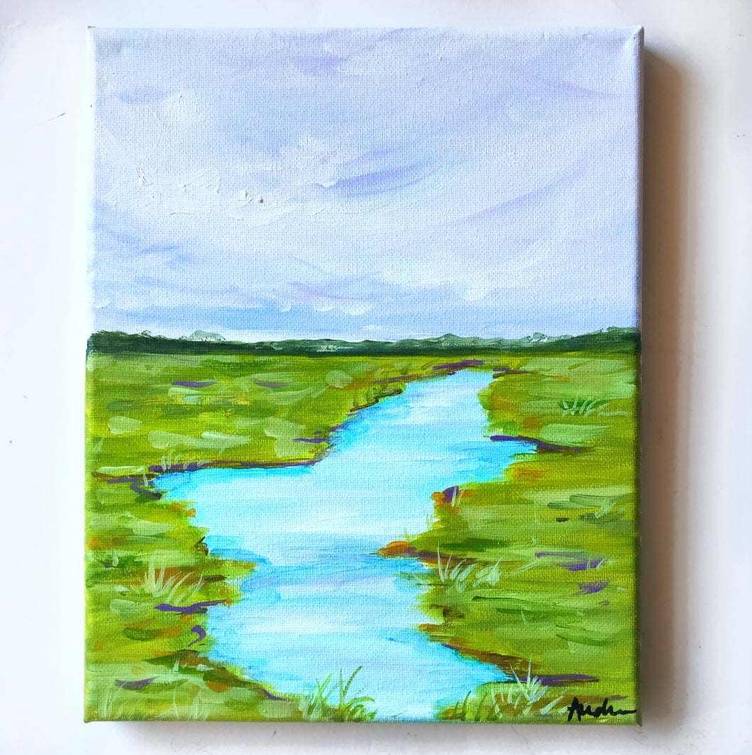 8x10 Original Painting on Canvas