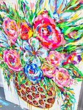 "Load image into Gallery viewer, 36""x48"" Original Floral Painting on Canvas - ""Something About It"""