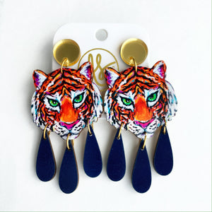 Tiger - Dangles and Studs