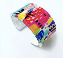 Load image into Gallery viewer, Acrylic Bracelet Cuff - 4 Styles