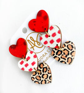 Sweethearts - Red Dot Leopard