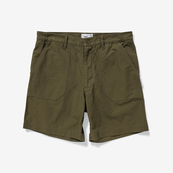 WTAPS 19S/S BUDS SHORTS / SHORTS. COTTON. RIPSTOP