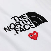 COMME des GARCONS Play The North Face x Play T-Shirt ( Ladies )
