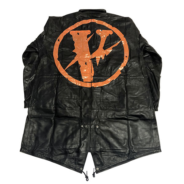 VLONE x fragment design FRIENDS FRAGMENT KNEE LENGTH PARKA JACKET LAMB LEATHER