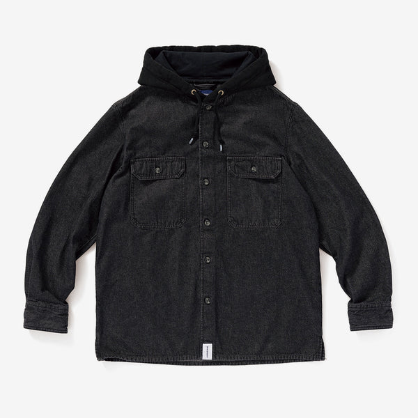 DESCENDANT 19A/W SPICOLI HOODED LS SHIRT