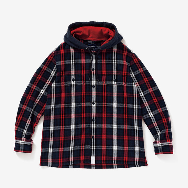 DESCENDANT 19A/W STONER HOODED LS SHIRT