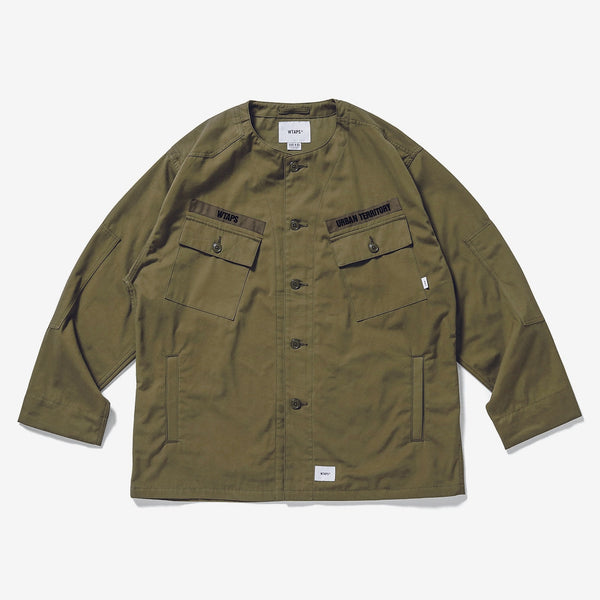 WTAPS 20A/W SCOUT / LS / COTTON. WEATHER