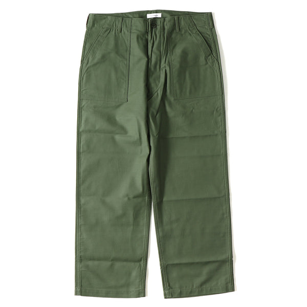 WTAPS 18A/W BUDS 02 / TROUSERS. COTTON. SATIN