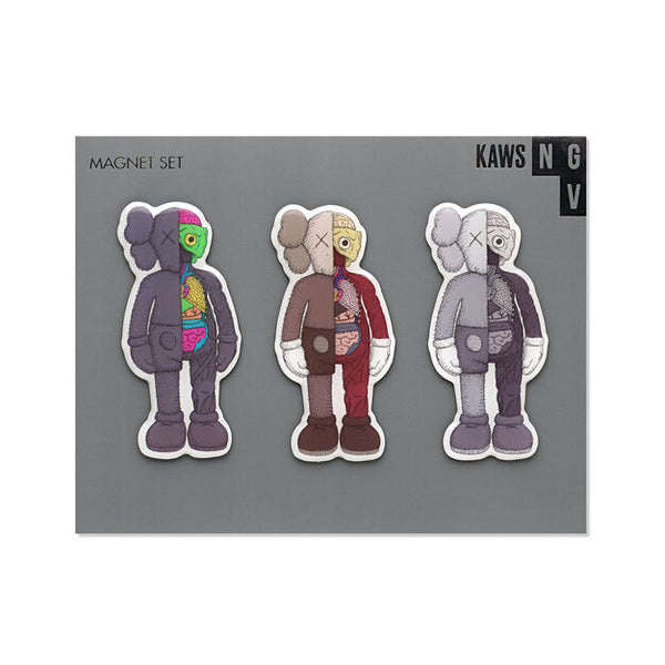KAWS x NGV MAGNET SET [ COMPANION FLAYED ]