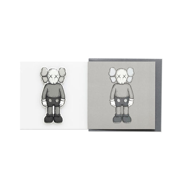 KAWS x NGV PUFFY STICKER & BLANK CARD [ COMPANION - Gray ]