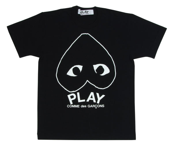 COMME des GARCONS Play Black Play T-Shirt (Black) ( Ladies )