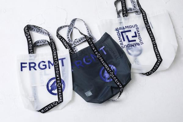 "fragment design × RAMIDUS ""NEXKIN"" TOTE BAG"