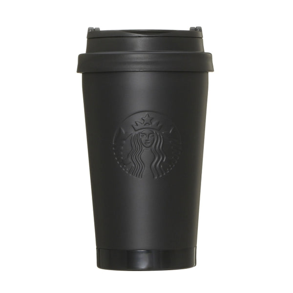 fragment design x STARBUCKS Stainless ToGo Logo Tumbler Mat Black FRGMT MYST [ 5 - 350ml ]