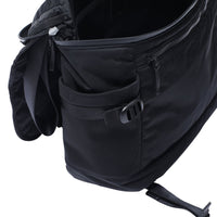 RAMIDUS BLACK BEAUTY MESSENGER BAG (L)