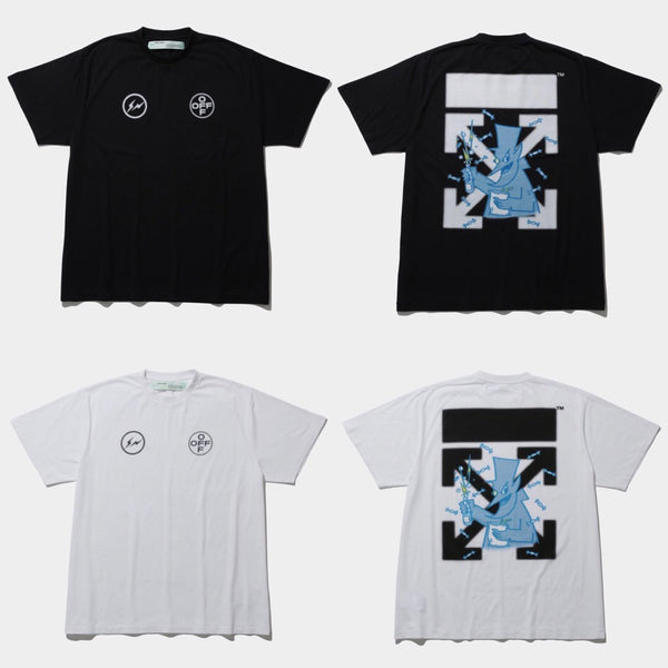 THE CONVENI Limited fragment x OFF-WHITE c/o VIRGIL ABLOH CEREAL TEE