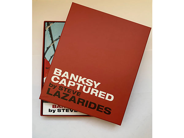 BANKSY CAPTURED by STEVE LAZARIDES Vol.1