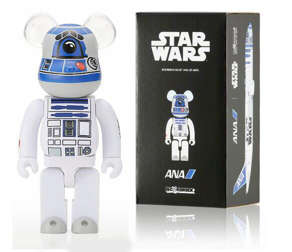 BE@RBRICK x STARWARS R2-D2(TM) ANA JET 400%