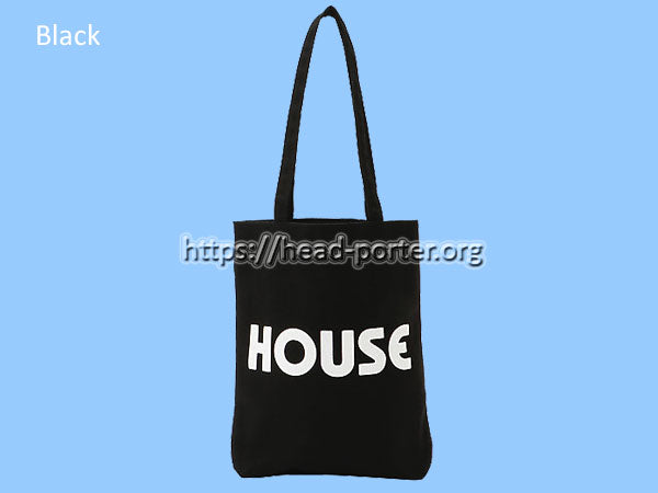 IN THE HOUSE HOUSE TOTE BAG
