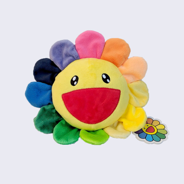 MURAKAMI TAKASHI Kutakuta Flower Rainbow Stuffed Toy (Medium)