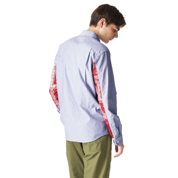 SOPH. 21S/S PANELED SLEEVE B.D SHIRT