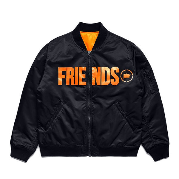 VLONE x fragment design FRIENDS FRAGMENT BOMBER JACKET